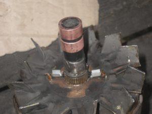 Замена контактных колец генератора