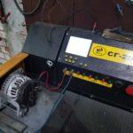 Процесс ремонта генератора