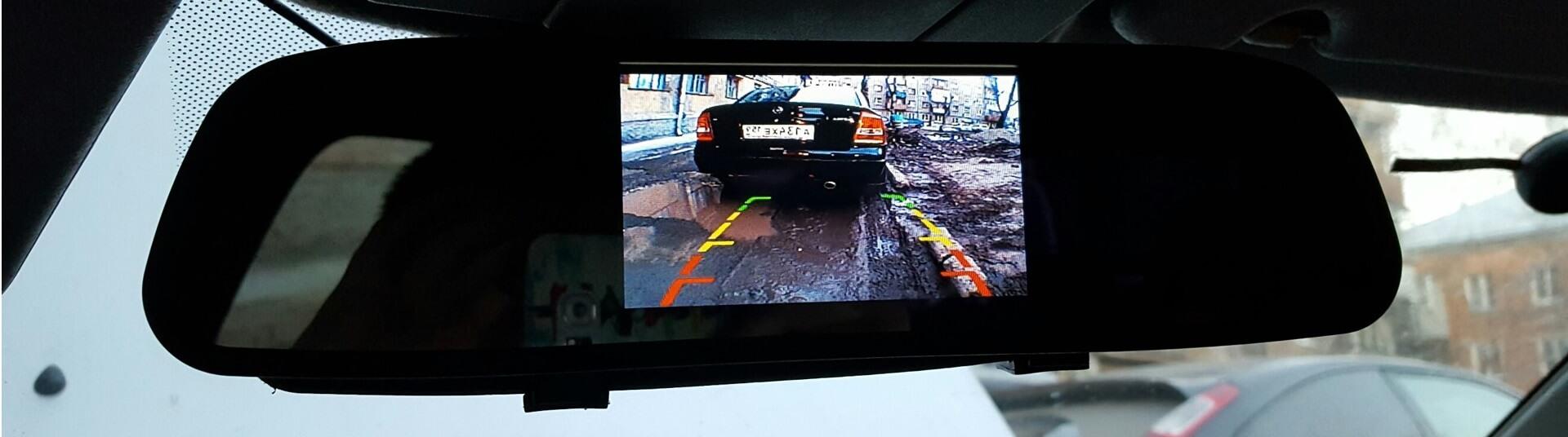 Фото установки камеры заднего вида на автомобиль 2